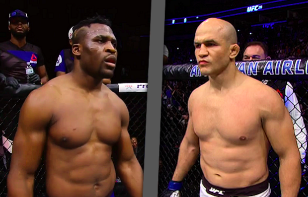 Junior dos Santos Francis Ngannou Betting Odds UFC 239