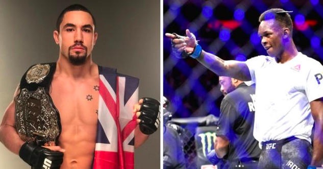 Robert Whittaker Israel Adeysana Betting Odds