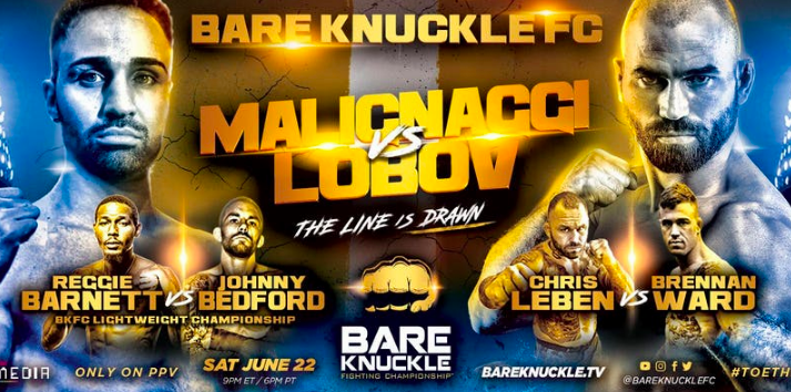 bare knuckle fc betting odds