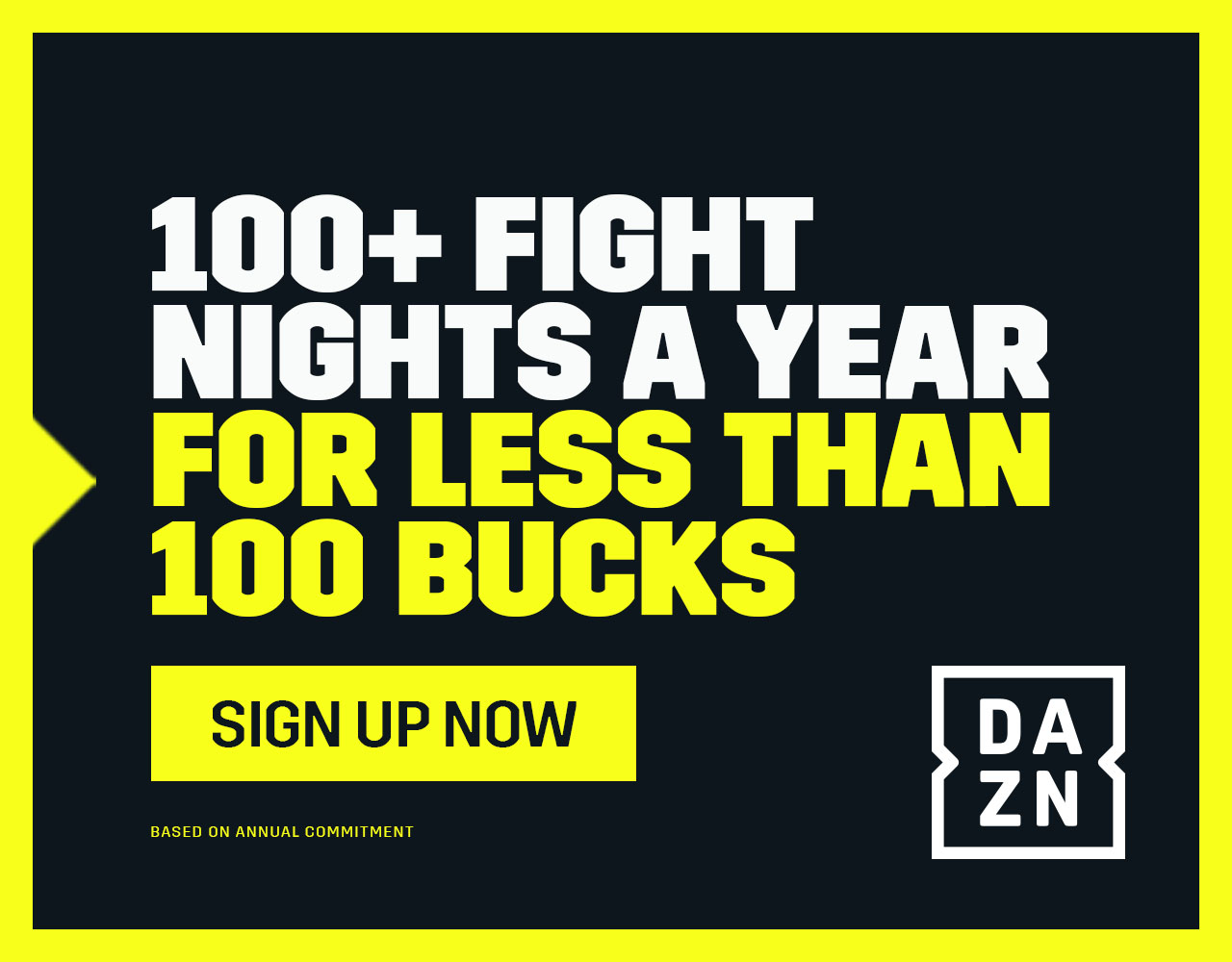 DAZN Boxing Sign Up Offer