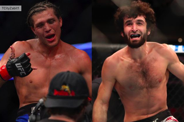 Ortega Zabit UFC Betting Odds