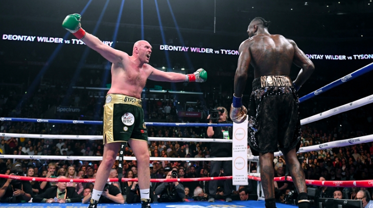 Fury Wilder 2 Rematch Betting Odds