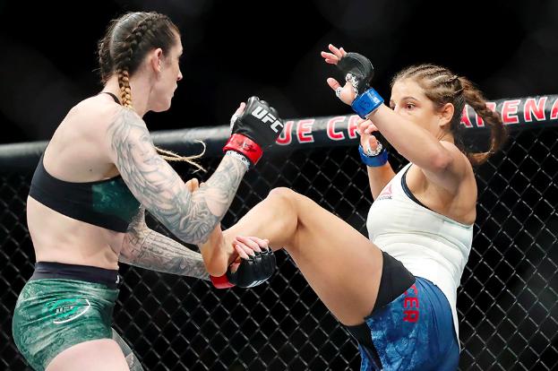 Felicia Spencer vs Megan Anderson