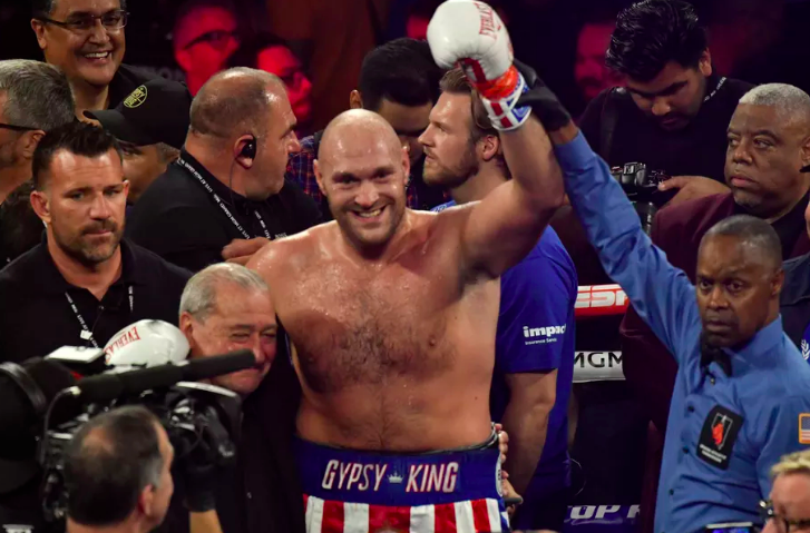 Tyson Fury Opening Boxing Betting Odds